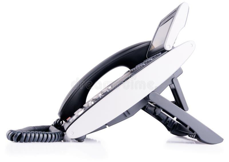 Téléphone digital de bureau photo libre de droits