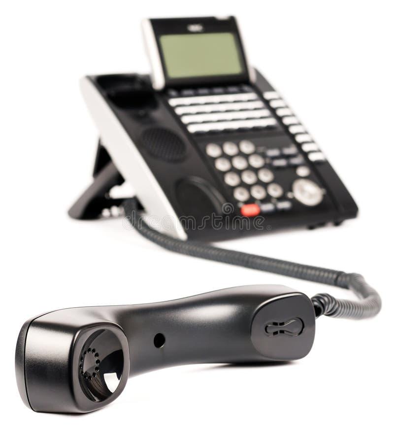 Téléphone digital de bureau off-hook photo libre de droits