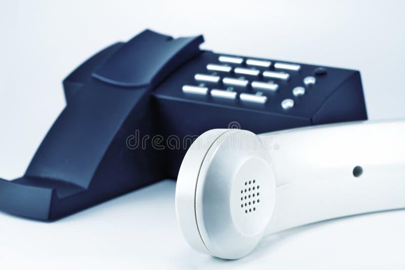 Téléphone et combiné téléphonique photographie stock libre de droits