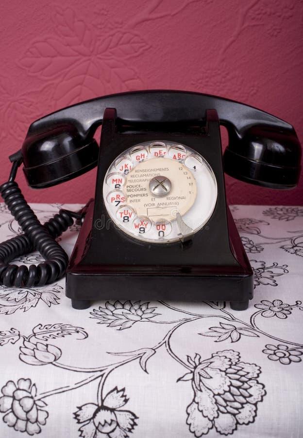 Téléphone français image libre de droits