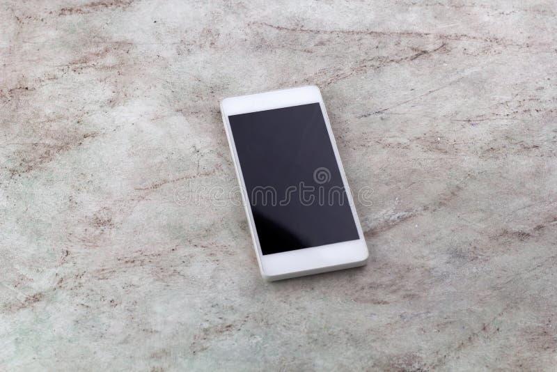 téléphone intelligent de vue supérieure photo libre de droits