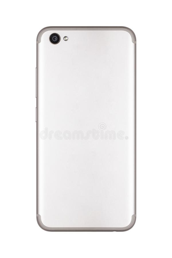 Téléphone intelligent, le dos du téléphone photographie stock