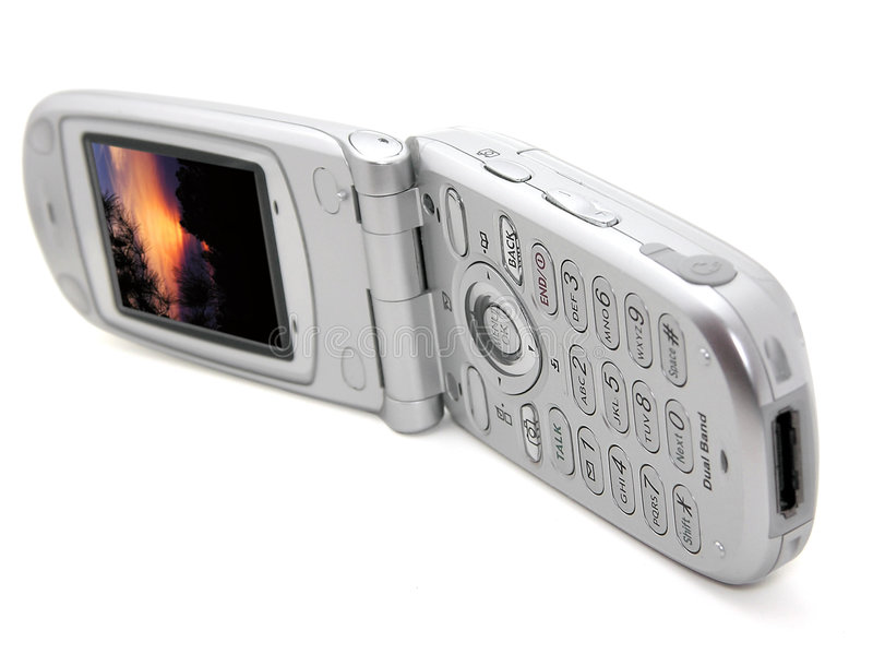 Téléphone mobile photo stock