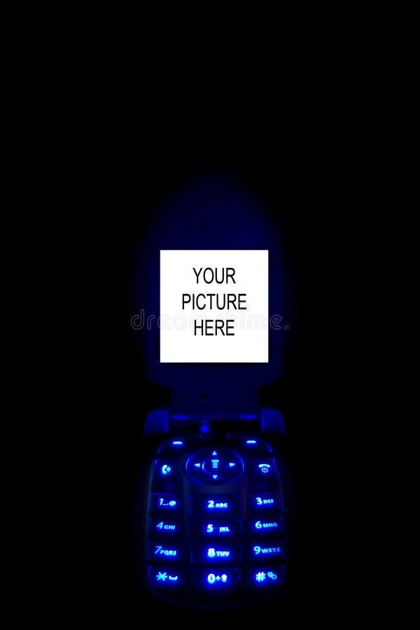 Téléphone mobile cellulaire 04 de technologie image stock