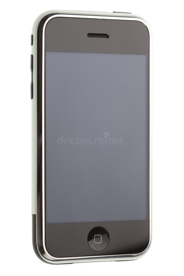 téléphone moderne mobile de pda photographie stock