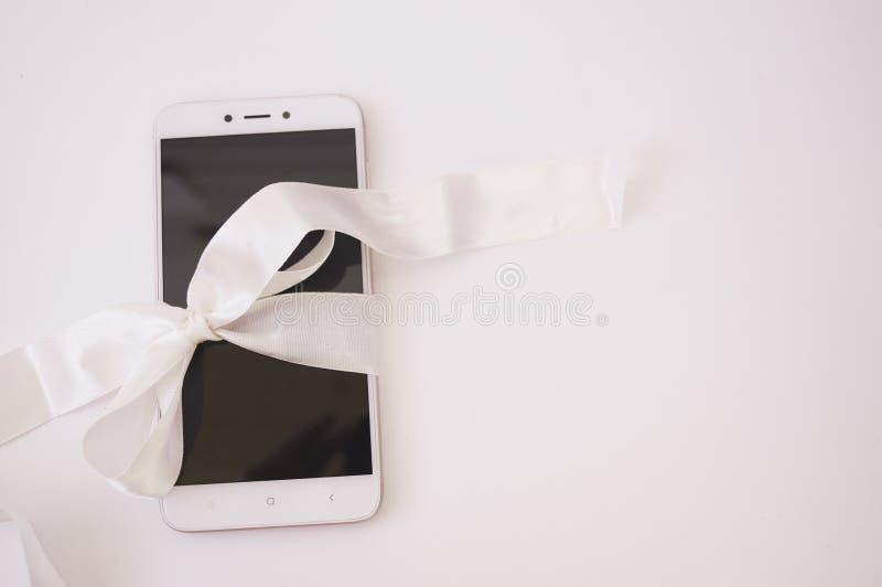 Téléphone moderne, smartphone image stock