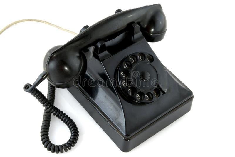 Download Téléphone noir photo stock. Image du noir, sonner, bureau - 8659616