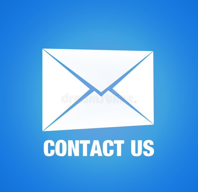 Téléphone ou courrier illustration de vecteur
