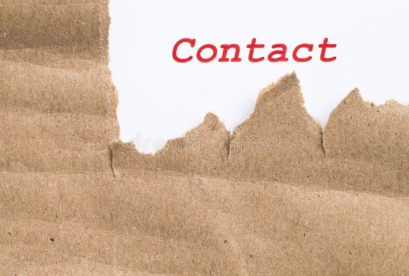 Téléphone ou courrier photo libre de droits