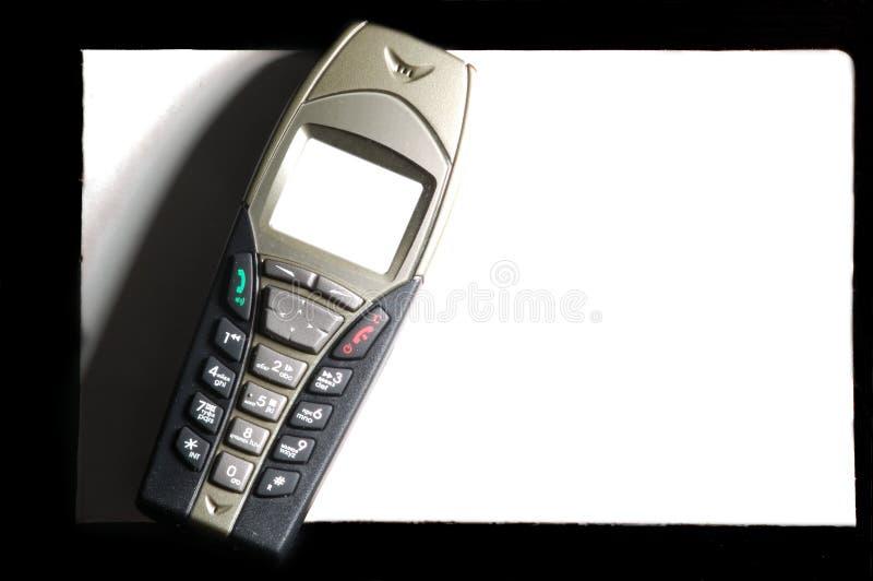 Téléphone portable élégant images stock