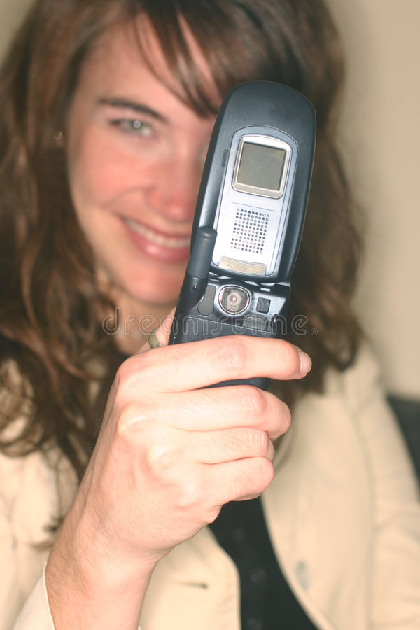 Téléphone portable 1 d'appareil-photo photo stock