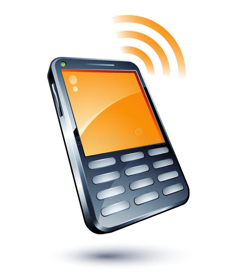 Téléphone portable illustration libre de droits