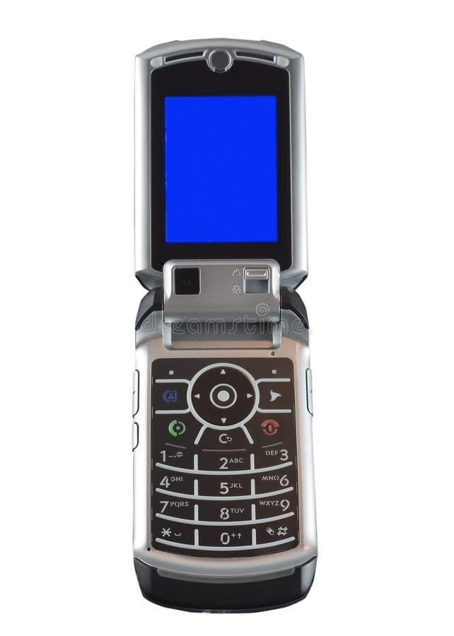 Téléphone portable avec l'appareil-photo photos stock