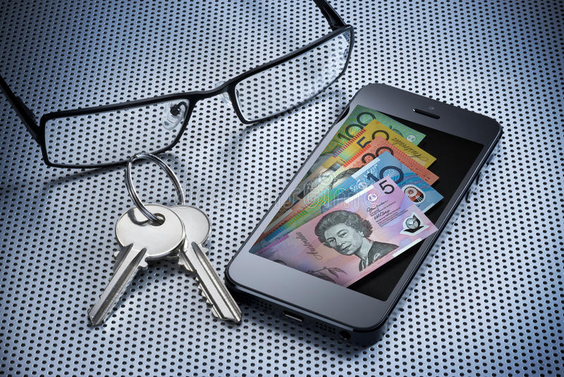 Téléphone portable de pochette d'argent de Digitals