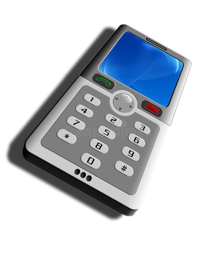 Téléphone portable générique images stock