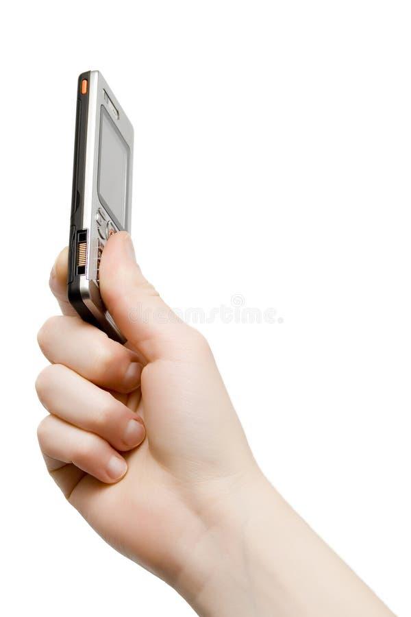 Téléphone portable mince photos libres de droits