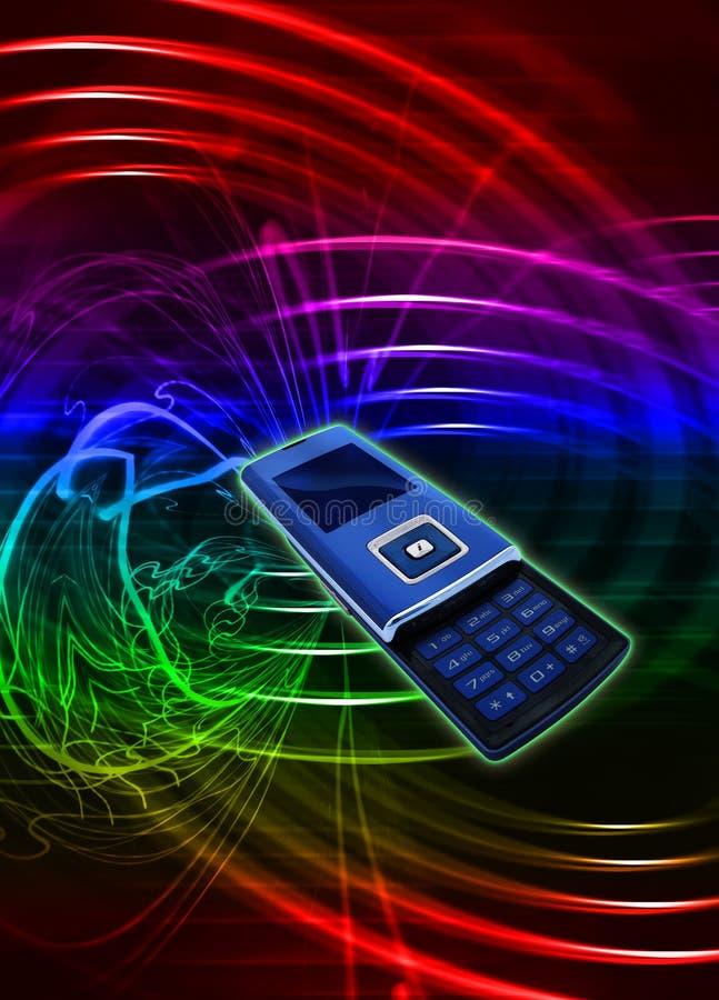 Téléphone portable mobile image libre de droits