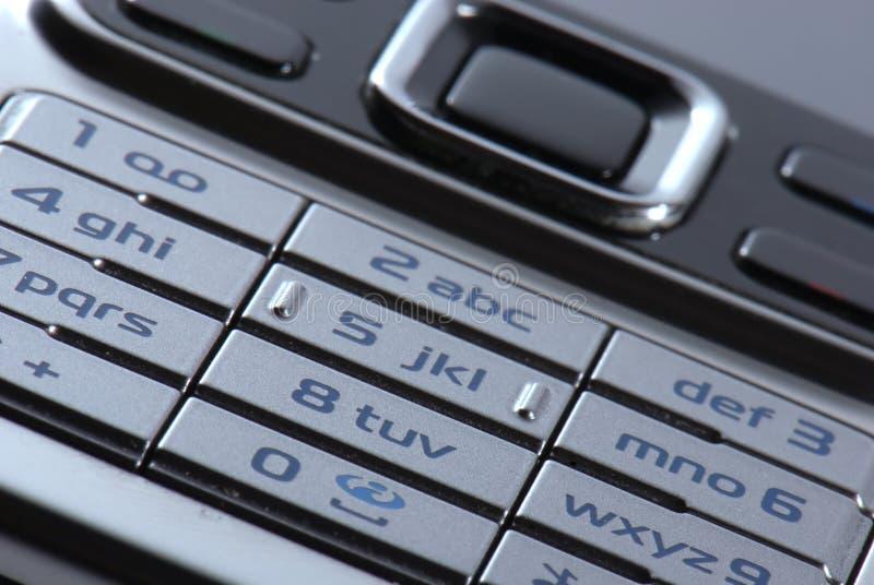 Téléphone portable moderne en plan rapproché photo stock