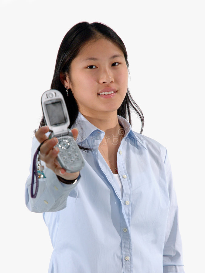 Téléphone pour vous photographie stock libre de droits