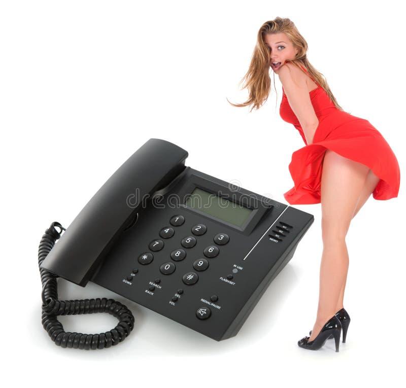 téléphone proche d'affaires vers le haut photo stock