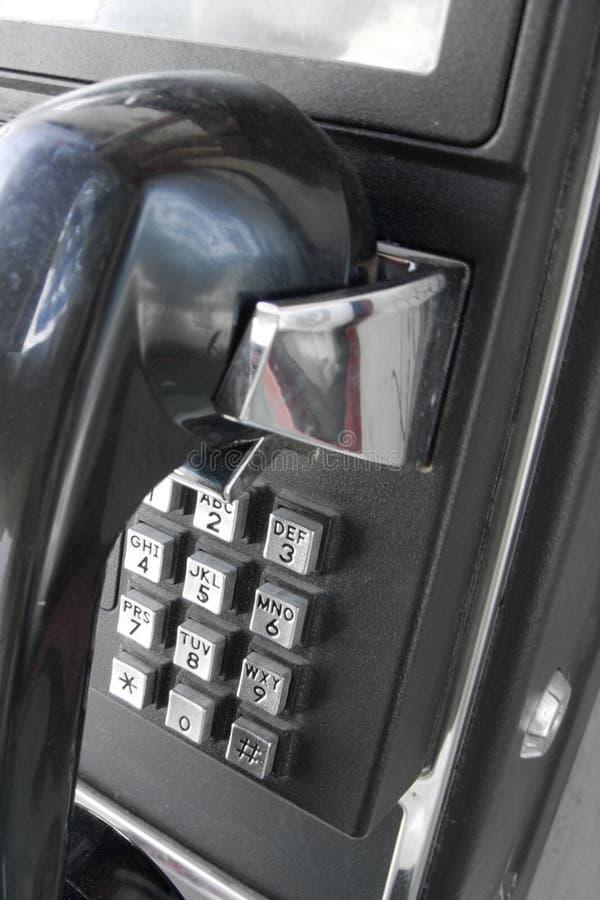 Téléphone public images libres de droits