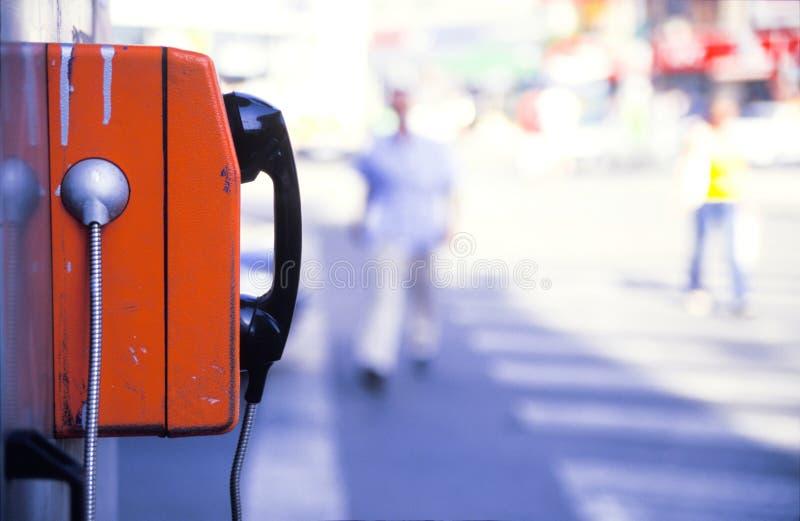 Téléphone public photographie stock libre de droits