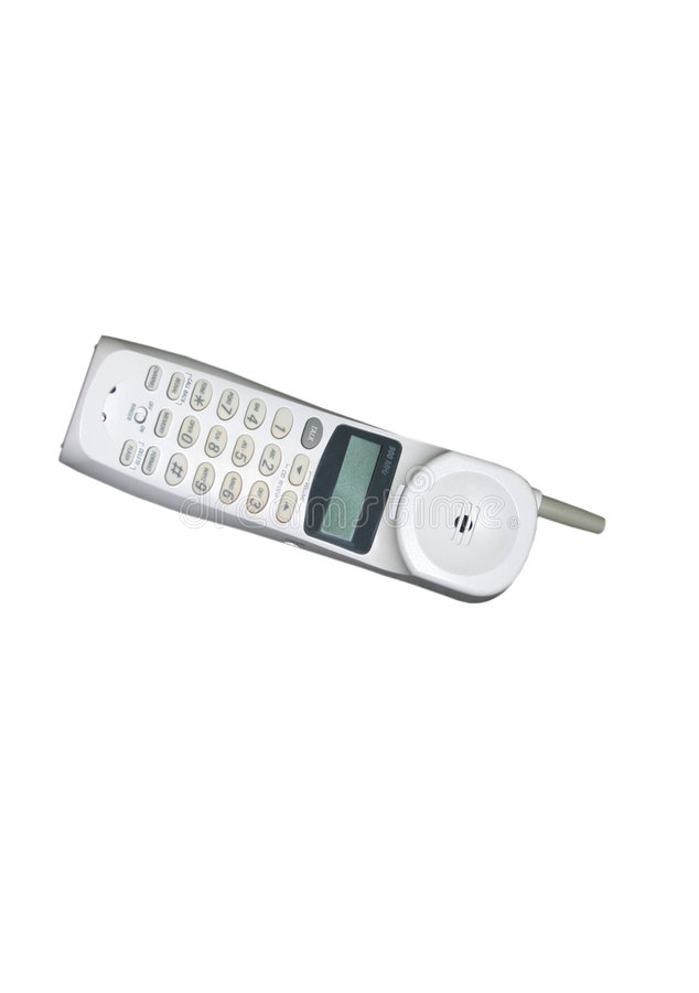 Téléphone sans fil image libre de droits