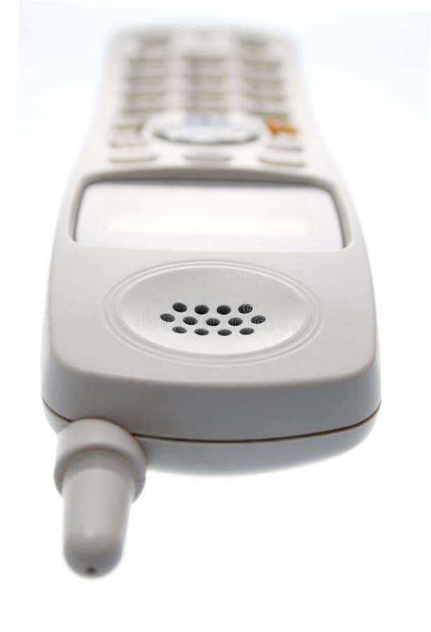 Téléphone sans fil blanc photos libres de droits