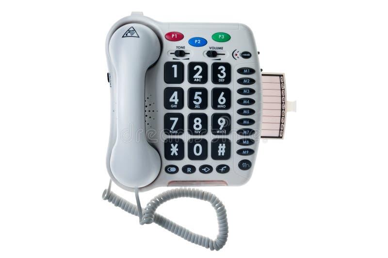 Téléphone stationnaire spécial image libre de droits