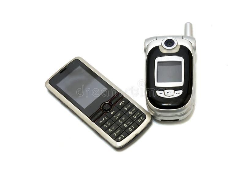 Téléphones portables de génération images libres de droits