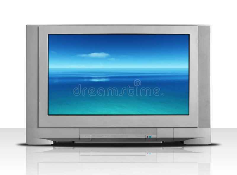 Télévision photo stock