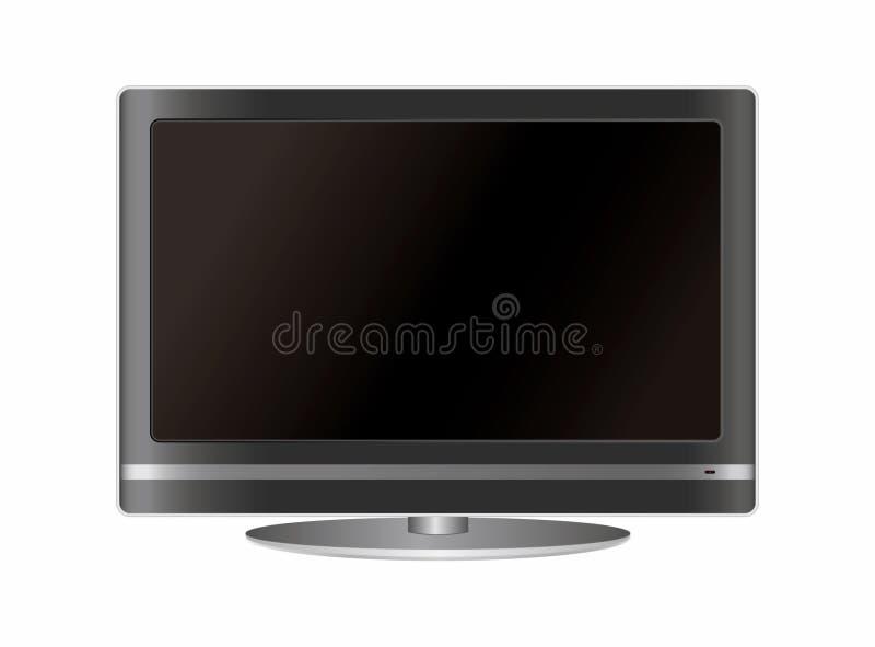 Télévision d'écran plat illustration de vecteur