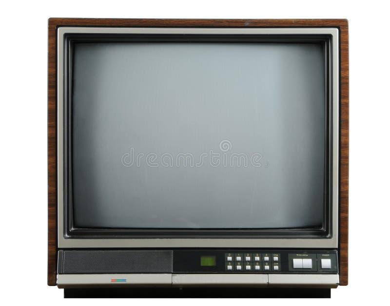 Télévision de cru photo stock