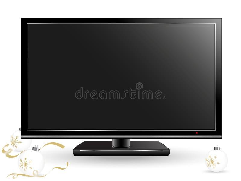 Télévision de plasma illustration stock