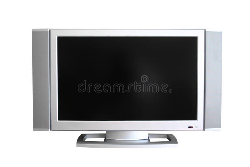 Télévision de plasma photo stock