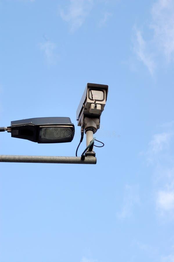 télévision en circuit fermé d'appareil-photo photographie stock