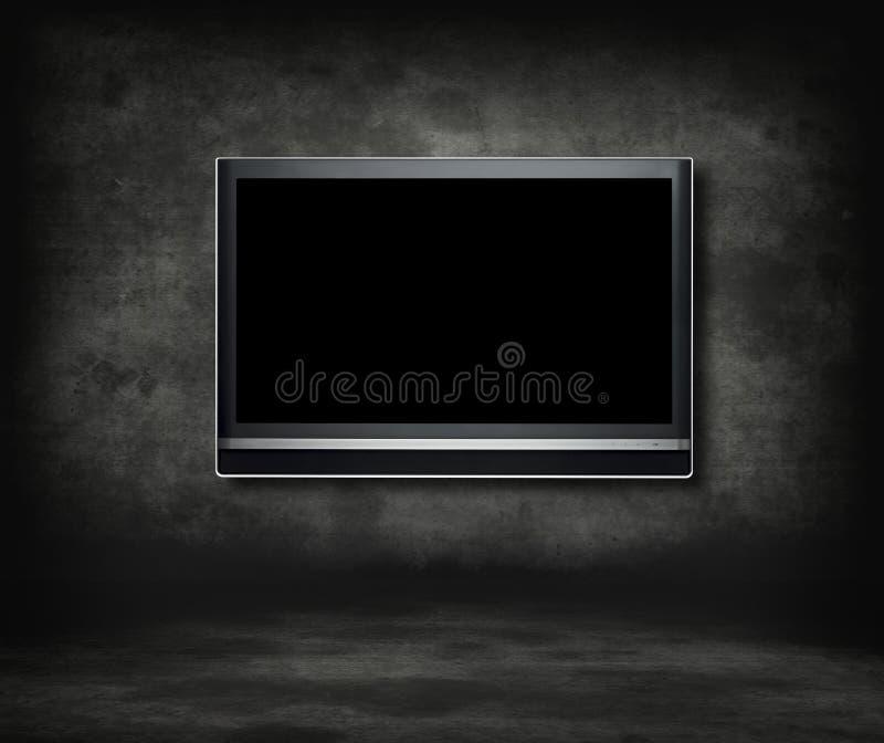 Télévision gothique image libre de droits