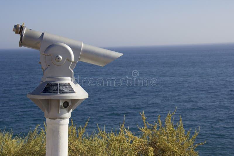 Télescope à jetons guidé image stock