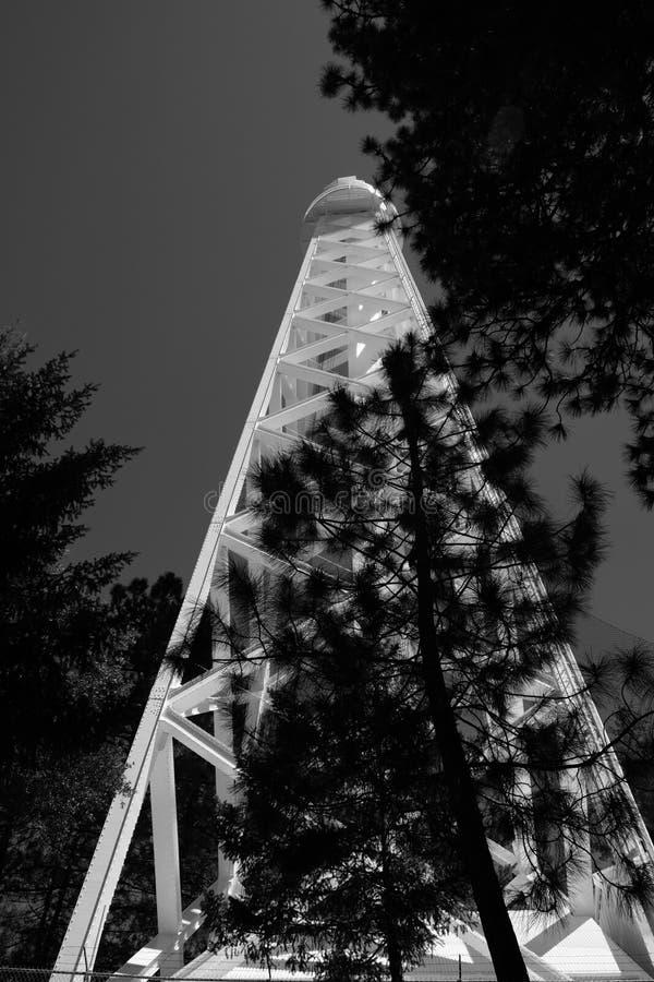 télescope de 100-inch le Mont Wilson photo stock