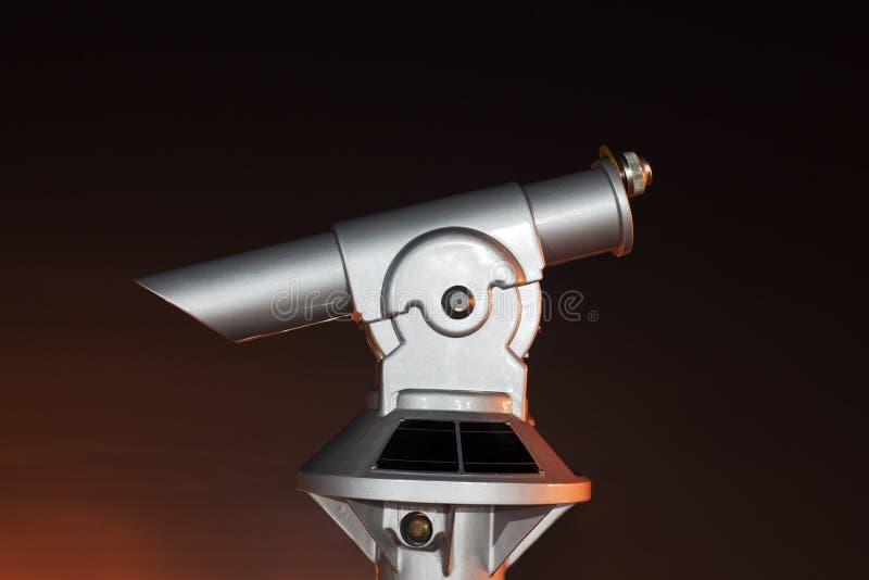 Télescope panoramique images libres de droits