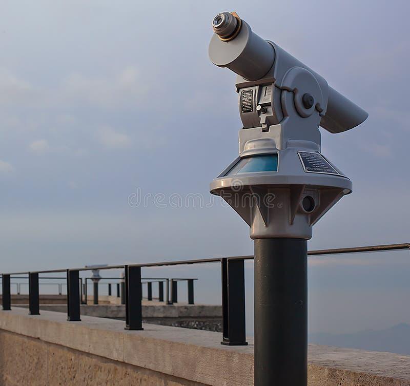 Télescope panoramique photo libre de droits