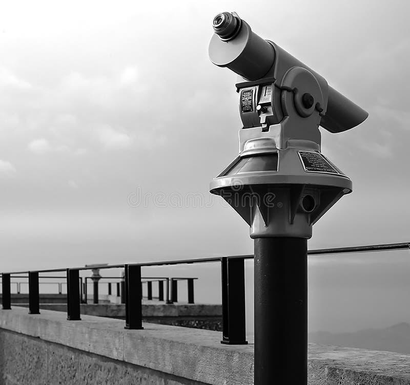 Télescope panoramique photo stock