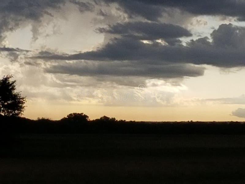 Término das tempestades de Oklahoma imagem de stock royalty free