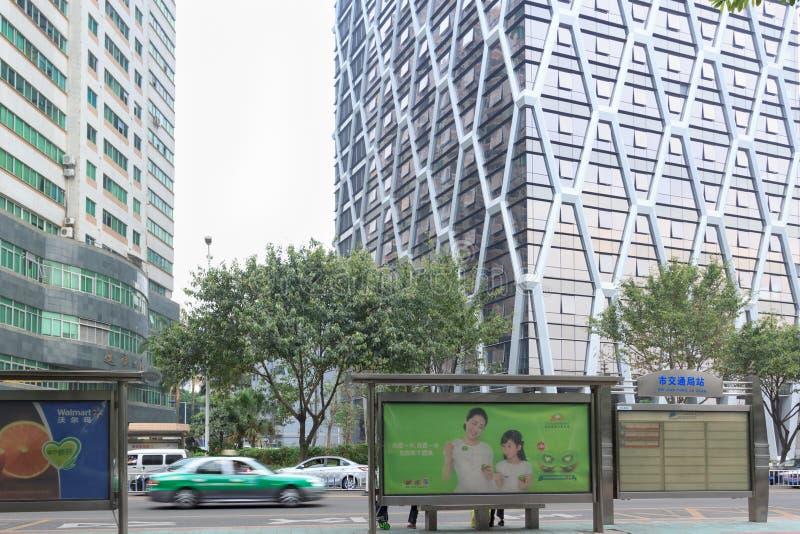 Término de autobuses en Xiamen foto de archivo