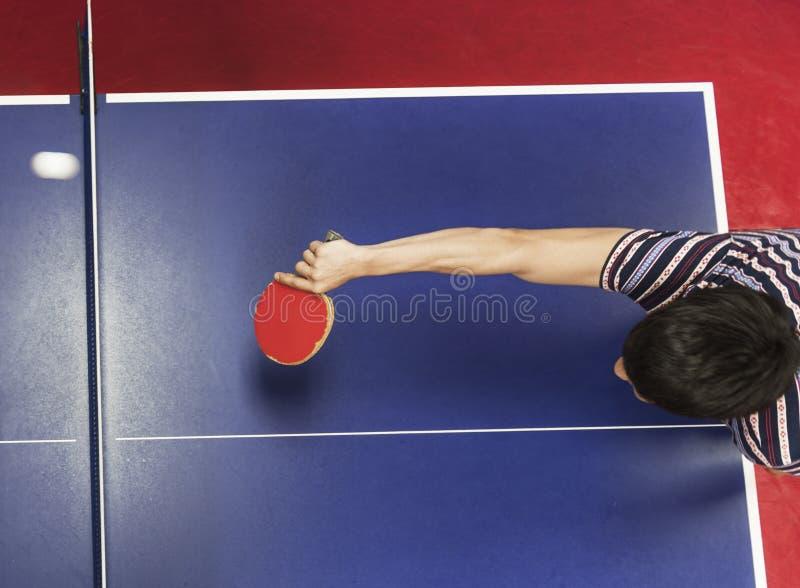 Tênis de mesa Ping-Pong Sport Activity Concept fotografia de stock