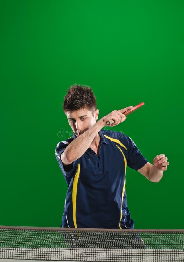 Tênis-jogador fotografia de stock