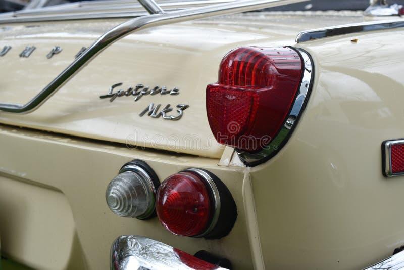 Tête brûlée Mk3 de 1969 Triumph photo libre de droits