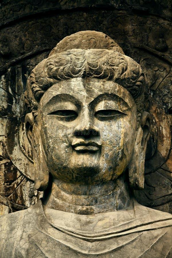 Tête de Bouddha photo stock