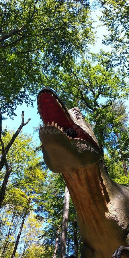Tête de dinosaure images libres de droits