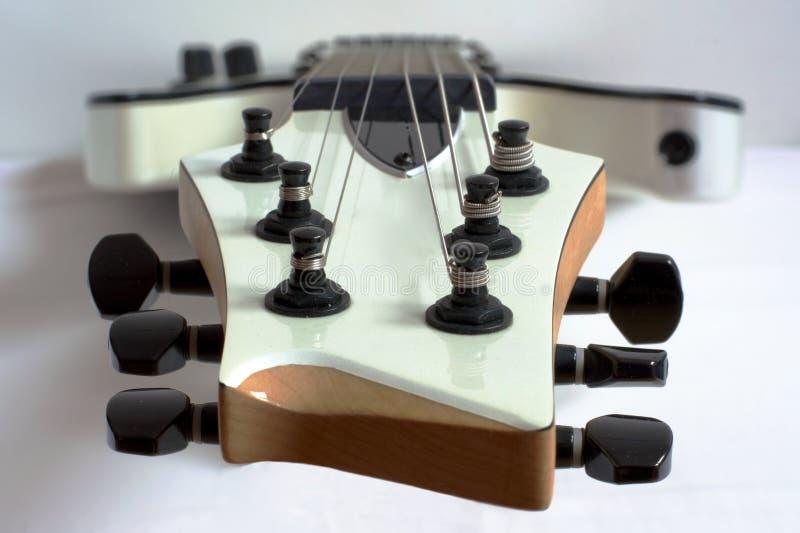 Tête de guitare photographie stock libre de droits